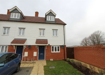 Thumbnail 3 bed end terrace house for sale in Henry Everett Grove, Colchester, Essex