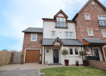 Thumbnail 4 bed terraced house for sale in 30 Johnston Drive, Carlisle, Cumbria