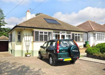 Thumbnail 3 bed detached bungalow for sale in Claremount Gardens, Epsom Downs, Surrey