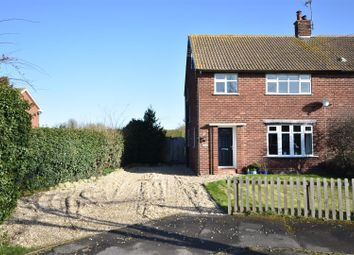 Thumbnail 3 bed semi-detached house for sale in Meadow Lane, Weston, Newark