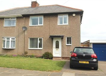 Thumbnail 3 bed semi-detached house for sale in Mayfield Avenue, Mayfield Grange, Cramlington