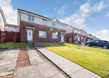 Thumbnail 3 bed semi-detached house for sale in Brockburn Road, Glasgow, Lanarkshire