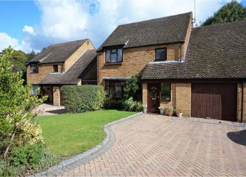 Thumbnail 4 bed link-detached house for sale in Coleridge Avenue, Yateley