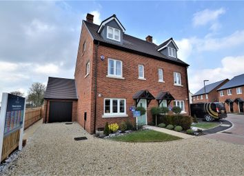 Thumbnail 4 bed semi-detached house for sale in Heyford Park, Camp Road, Upper Heyford, Bicester
