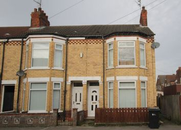 Thumbnail 3 bed terraced house to rent in Swinburne Street, Hull
