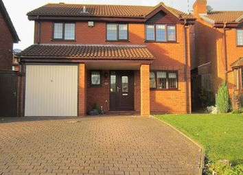 Thumbnail 4 bed detached house for sale in Larkfield Way, Allesley Green, Coventry