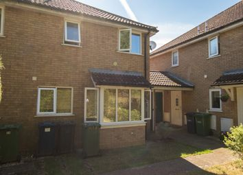 Thumbnail 1 bedroom terraced house to rent in Alder Close, Eaton Ford, St Neots