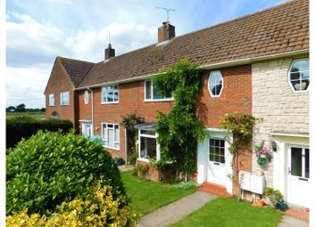 Thumbnail 3 bed terraced house for sale in Aisne Road, Ridgeway View, Chiseldon, Swindon