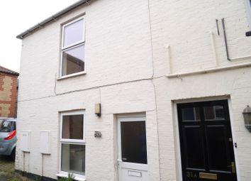 Thumbnail 1 bed end terrace house to rent in Bridge Street, Downham Market