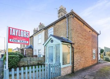 Thumbnail 2 bedroom end terrace house for sale in St.Neots Road, Sandy, Bedfordshire