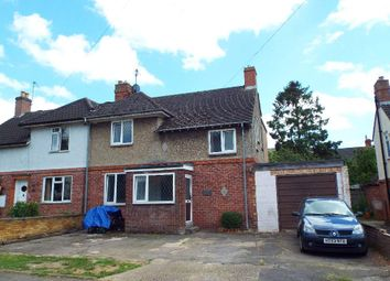 Thumbnail 4 bed semi-detached house for sale in Council Street, Bozeat, Northamptonshire