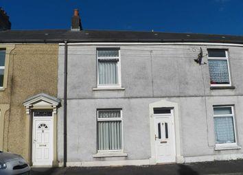 Thumbnail 2 bedroom terraced house for sale in Jersey Street, Swansea