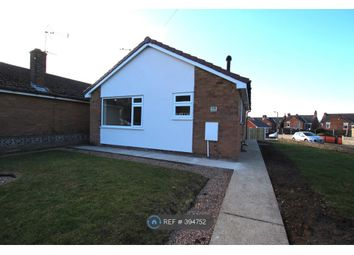 Thumbnail 2 bedroom bungalow to rent in The Oval, North Anston, Sheffield