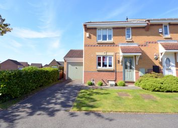 Thumbnail 3 bed end terrace house for sale in Lancelot Close, Newton Aycliffe