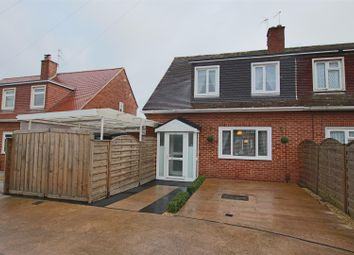 Thumbnail 2 bed semi-detached house for sale in Wear Barton Road, Countess Wear, Exeter