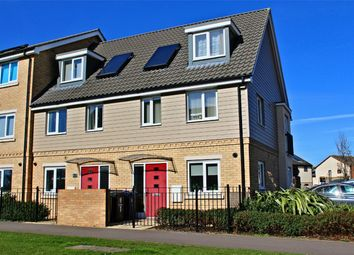 Thumbnail 3 bedroom end terrace house for sale in Sterling Way, Upper Cambourne, Cambourne, Cambridge
