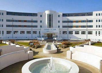 Thumbnail 1 bed flat to rent in Longridge Avenue, Saltdean, Brighton