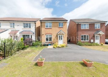 Thumbnail 3 bed detached house for sale in Jubilee Way, Rogerstone, Newport.