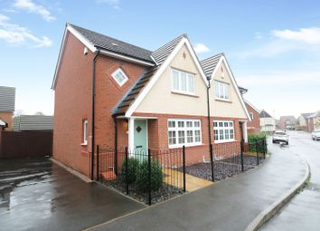 Thumbnail 3 bed semi-detached house for sale in Himley Close, Bilston