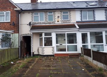 Thumbnail 3 bed bungalow to rent in Severne Road, Birmingham