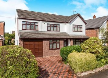 Thumbnail 4 bedroom detached house for sale in Kirkby Road, Culcheth, Warrington, Cheshire
