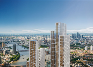 Thumbnail 3 bedroom flat for sale in One Nine Elms, River Tower, Nine Elms, London
