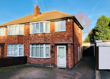 Thumbnail 3 bed semi-detached house for sale in Johnson Road, Birstall, Leicester, Leicestershire