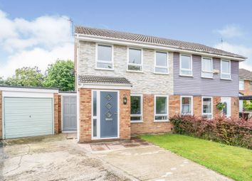 Thumbnail 2 bed semi-detached house for sale in Marlston Avenue, Irby, Wirral