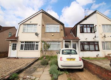 Thumbnail 2 bedroom terraced house for sale in Saunton Avenue, Hayes, Middlesex