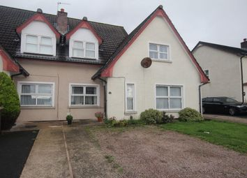 Thumbnail 2 bedroom semi-detached house for sale in Thorburn Road, Newtownabbey