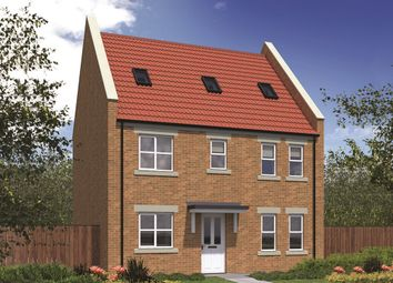 """Thumbnail 5 bedroom detached house for sale in """"The Woodchester"""" at Peases Cottages, South Terrace, Darlington"""