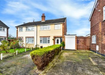 Thumbnail 3 bed semi-detached house for sale in Greenbanks, Wilmington, Kent