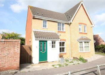 Thumbnail 3 bed semi-detached house to rent in Anglesey Gardens, Wickford, Essex
