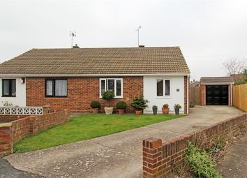 Thumbnail 2 bed semi-detached bungalow for sale in Prentis Close, Grove Park, Sittingbourne, Kent