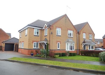 Thumbnail 5 bedroom detached house for sale in Burchnall Close, Deeping St. James, Peterborough