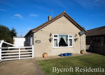 Thumbnail 2 bed detached bungalow for sale in Nightingale Close, Scratby, Great Yarmouth