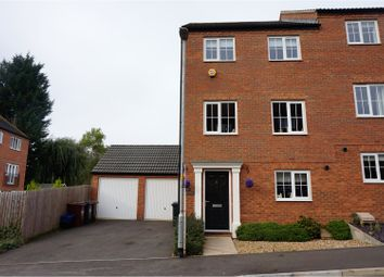Thumbnail 4 bed semi-detached house for sale in Bramble Close, Northampton