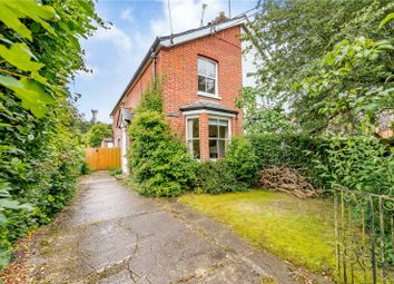 Thumbnail 3 bedroom semi-detached house for sale in Kings Lane, Windlesham, Surrey