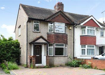 Thumbnail 3 bedroom semi-detached house for sale in Denham Way, Maple Cross, Rickmansworth, Hertfordshire