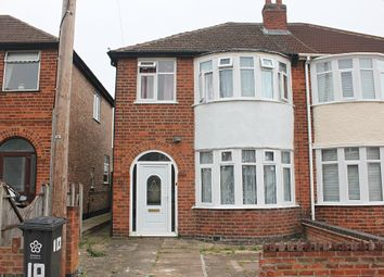 Thumbnail 3 bed semi-detached house for sale in Eastwood Road, Aylestone, Leicester