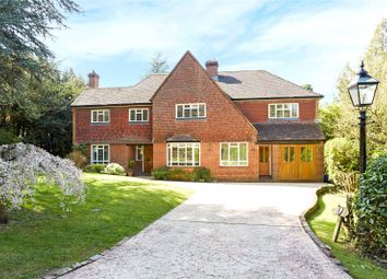 Thumbnail 5 bed detached house for sale in Crabtree Drive, Leatherhead, Surrey