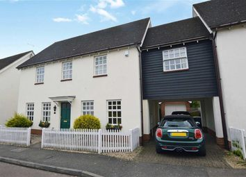 Thumbnail 5 bed link-detached house for sale in Tempest Mead, North Weald, Epping