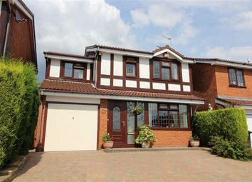 Thumbnail 4 bedroom detached house for sale in Hastings Court, Milking Bank, Dudley