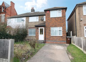 Thumbnail 3 bed semi-detached house for sale in Herbert Road, Nottingham