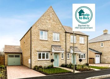 Thumbnail 3 bed semi-detached house for sale in Plot 4, Deanfield Grange, Milton Road, Shipton-Under-Wychwood, Oxfordshire