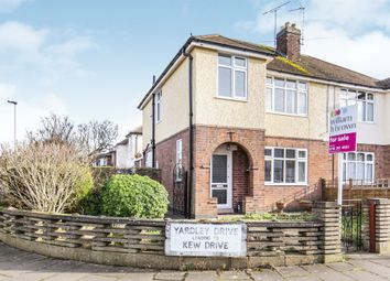 Thumbnail 3 bed semi-detached house for sale in Yardley Drive, West Knighton, Leicester