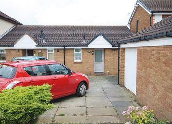 Thumbnail 1 bed terraced bungalow for sale in Gairloch Close, Fearnhead, Warrington