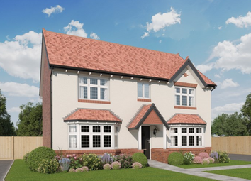 Thumbnail 4 bed detached house for sale in Wildings Croft, Fountain Lane, Davenham, Northwich