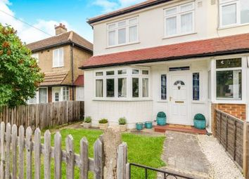 Thumbnail 3 bed end terrace house for sale in Hunters Road, Chessington, Surrey