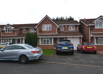 Thumbnail 4 bed detached house to rent in Russell Close, Tipton